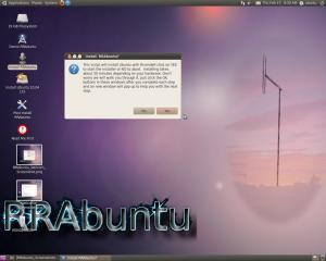 Install RRAbuntu?